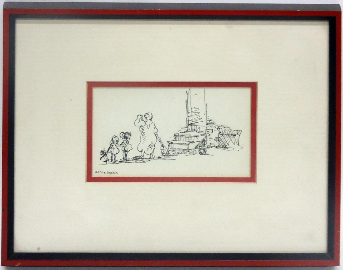 AARON SOPHER DRAWING PEN & INK