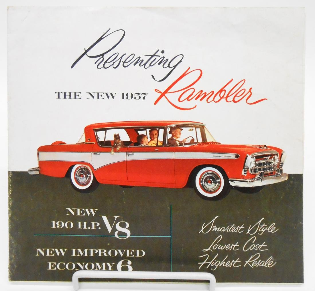 (3) RAMBLER & CHRYSLER ADVERTISING BROCHURES - 3