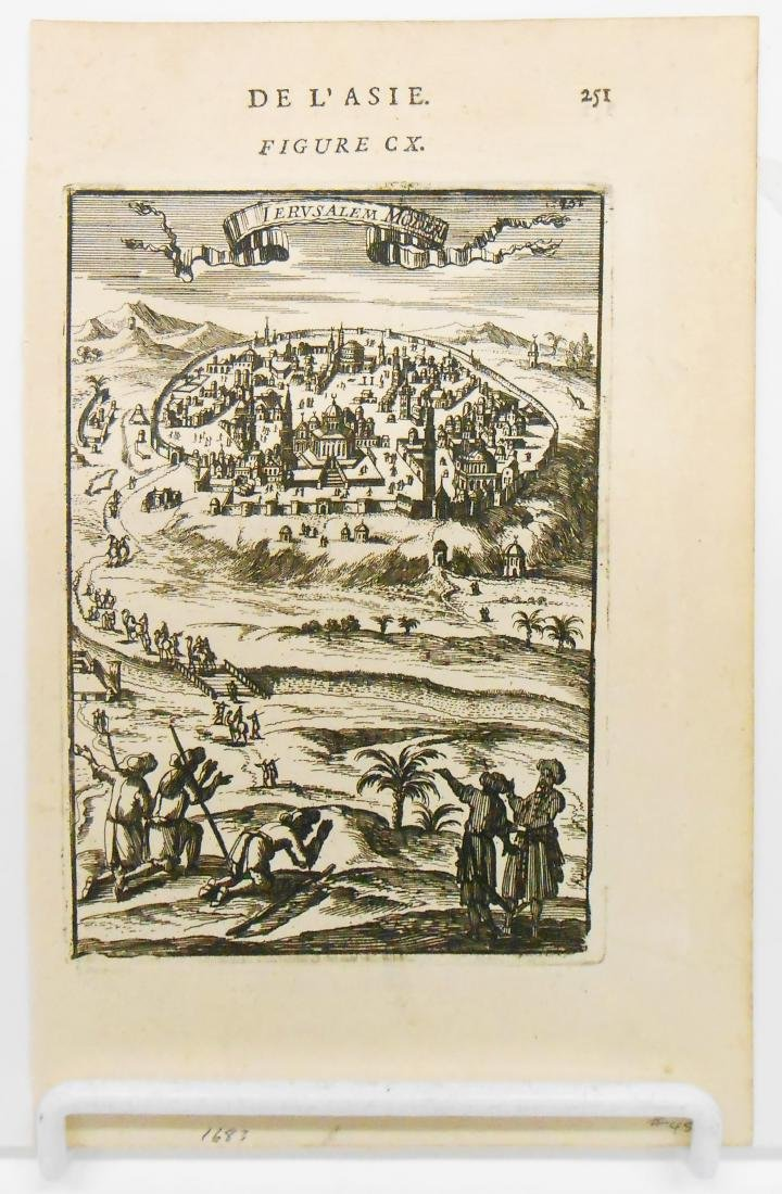 (8) 18TH CENTURY MAPS OF THE HOLY LAND