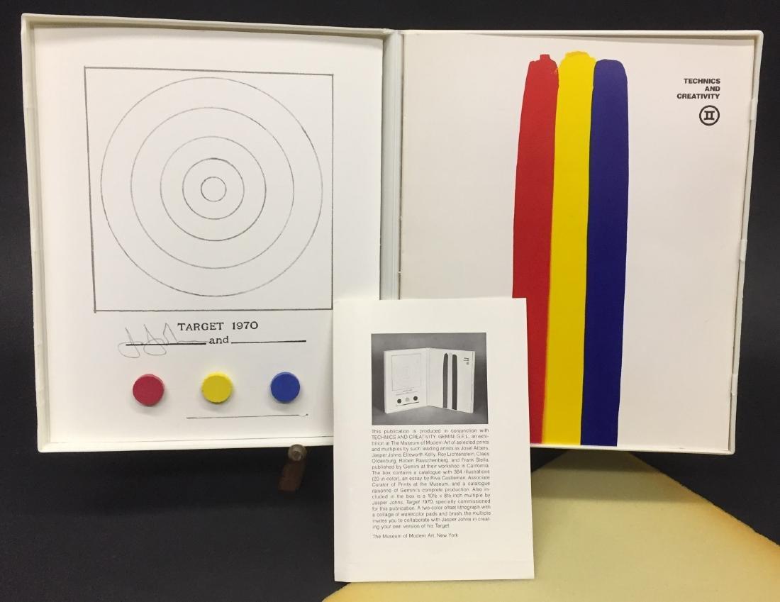 JASPER JOHNS TECHNICS AND CREATIVITY