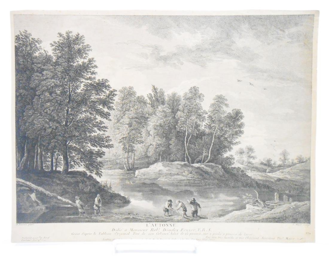 (6) 18TH & 17TH CENTURY ENGRAVINGS
