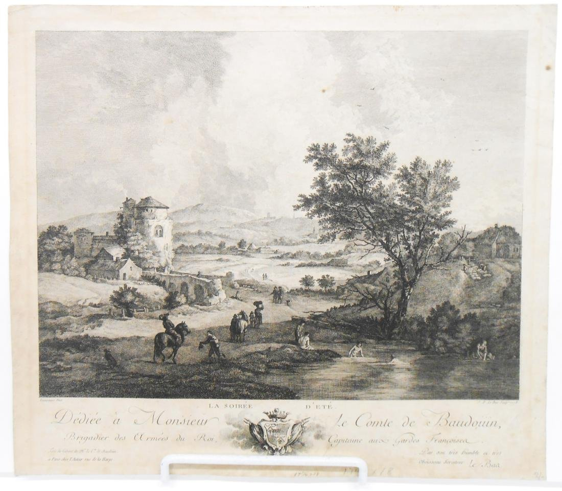 (6) 18TH & 17TH CENTURY ENGRAVINGS - 3
