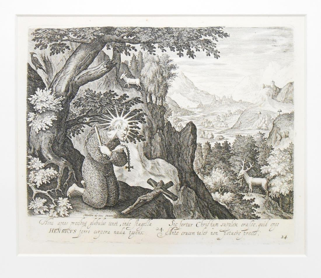 (6) 18TH & 17TH CENTURY ENGRAVINGS - 5