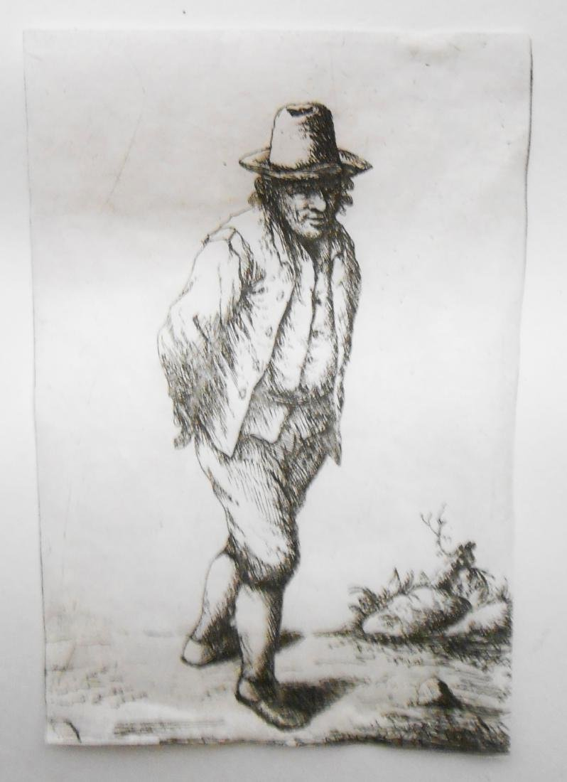 (8) 18TH CENTURY and POSSIBLY 17TH CENTURY ENGRAVINGS