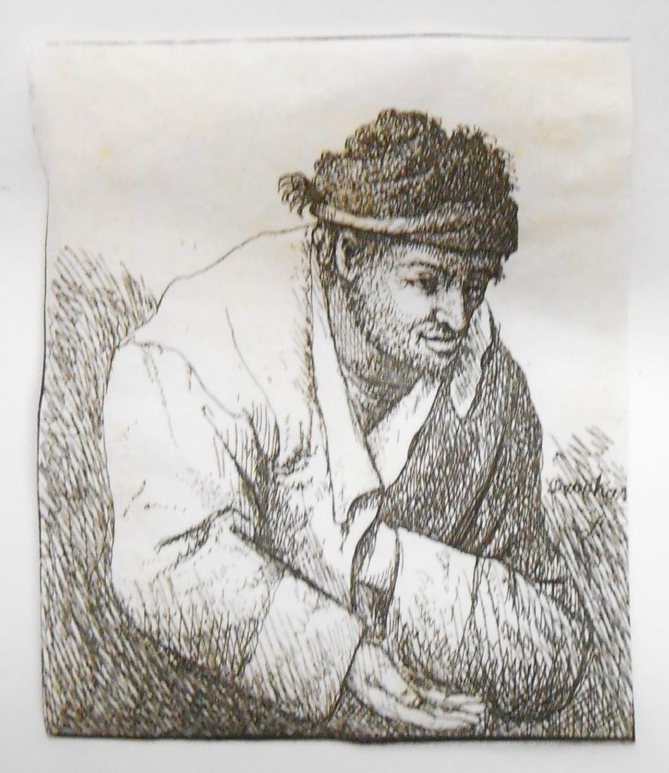 (8) 18TH CENTURY and POSSIBLY 17TH CENTURY ENGRAVINGS - 3