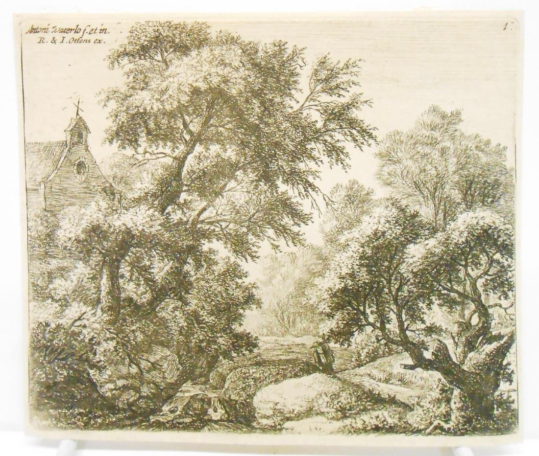 (8) 18TH CENTURY and POSSIBLY 17TH CENTURY ENGRAVINGS - 4