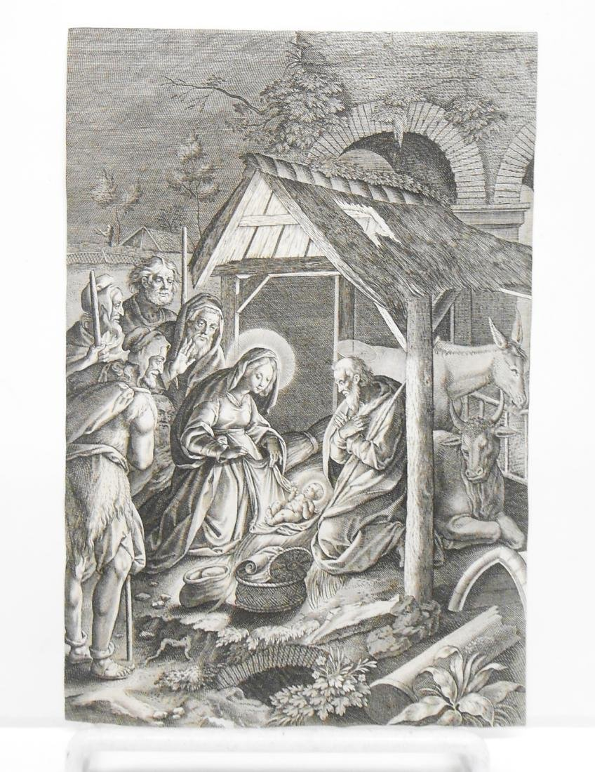 (8) 18TH CENTURY and POSSIBLY 17TH CENTURY ENGRAVINGS - 5