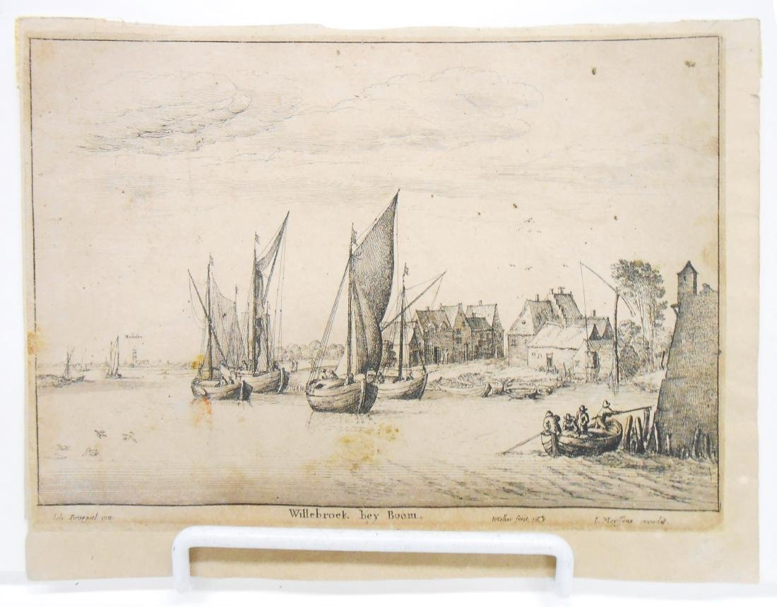 (8) 18TH CENTURY and POSSIBLY 17TH CENTURY ENGRAVINGS - 6