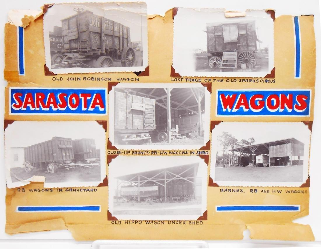 EARLY CIRCUS WAGON PHOTOGRAPHS - 3