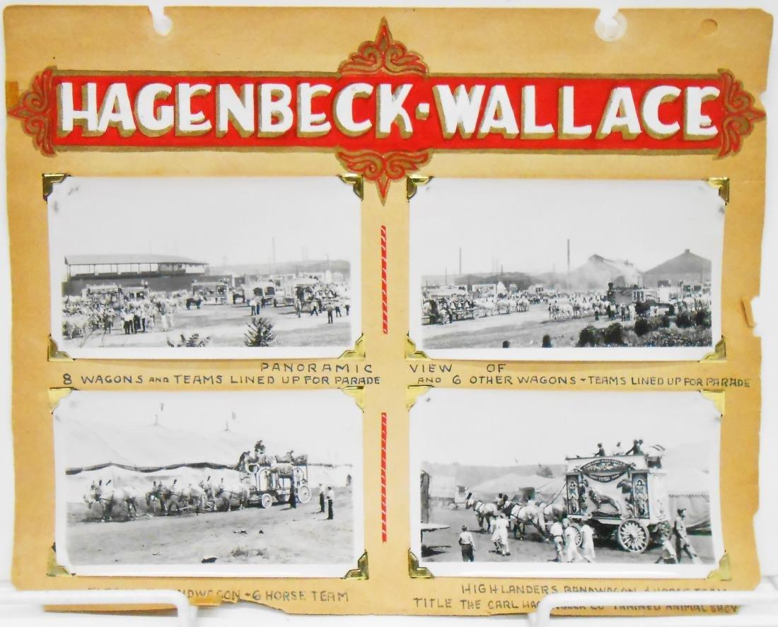 HAGENBECK-WALLACE & POLACK BROS. CIRCUS PHOTOS