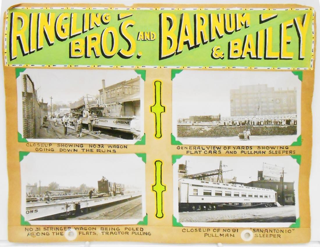 RINGLING BROS. BARNUM & BAILEY 1940 CIRCUS PHOTOS, ETC. - 2
