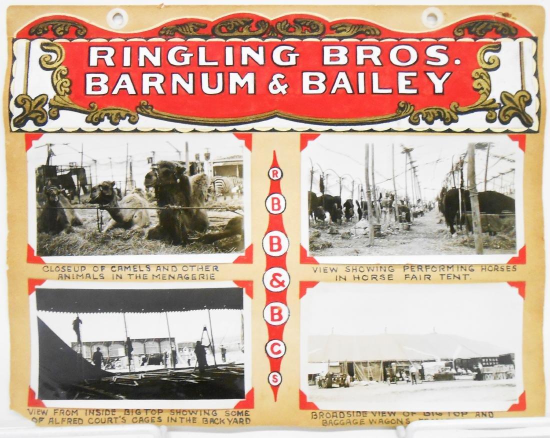 RINGLING BROS. BARNUM & BAILEY 1940 CIRCUS PHOTOS, ETC. - 5