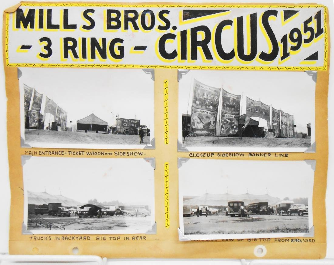 RINGLING BROS. BARNUM & BAILEY 1940 CIRCUS PHOTOS, ETC. - 6