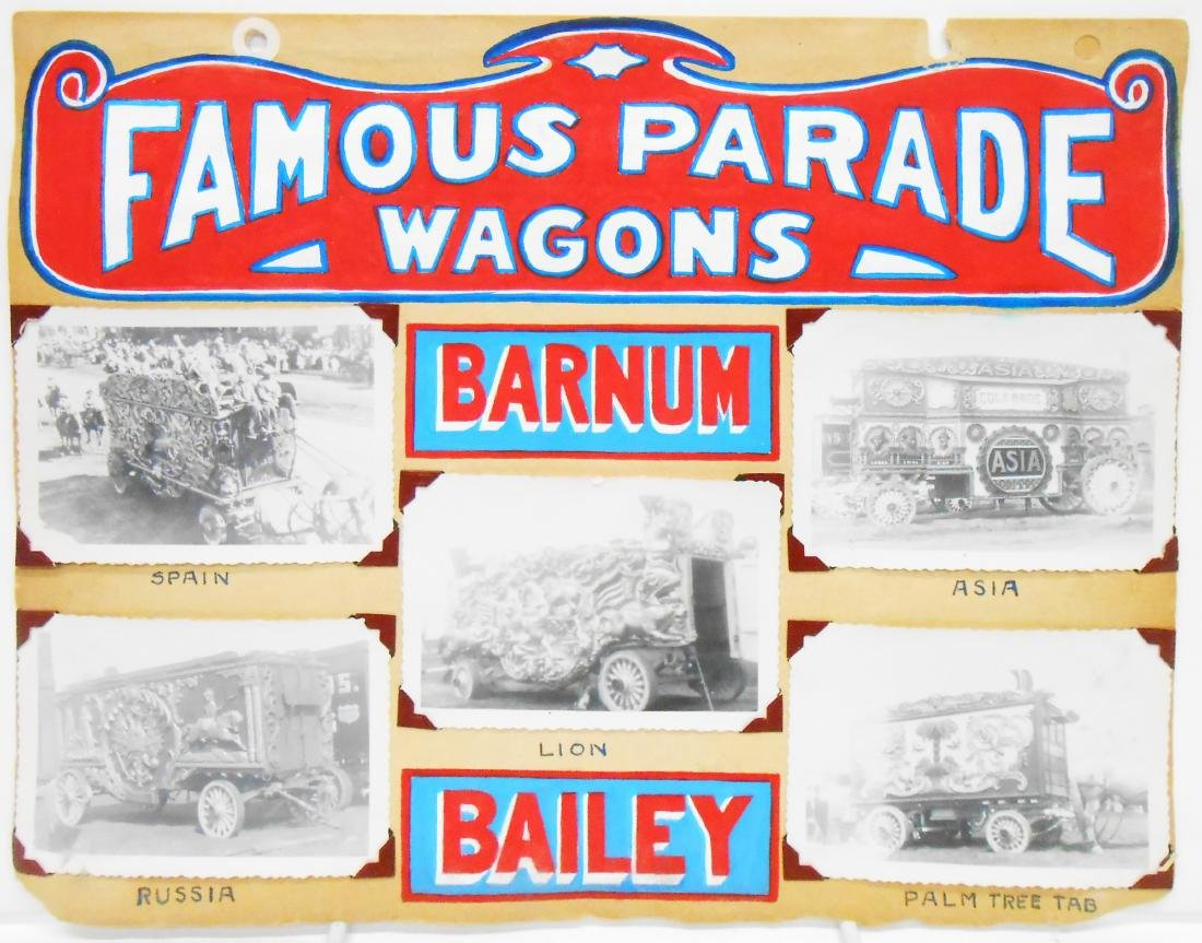 RINGLING BROS BARNUM BAILEY & WAGON PHOTOS