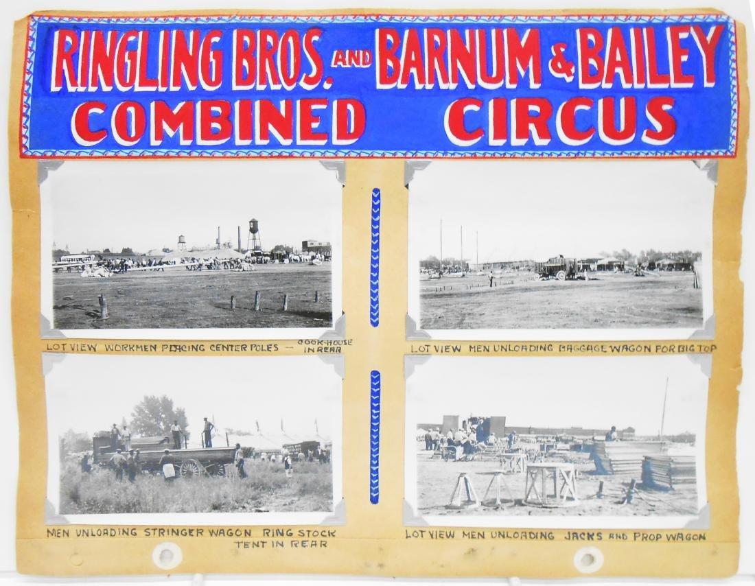RINGLING BROS BARNUM BAILEY COMBINE CIRCUS PHOTOS 1937+ - 2
