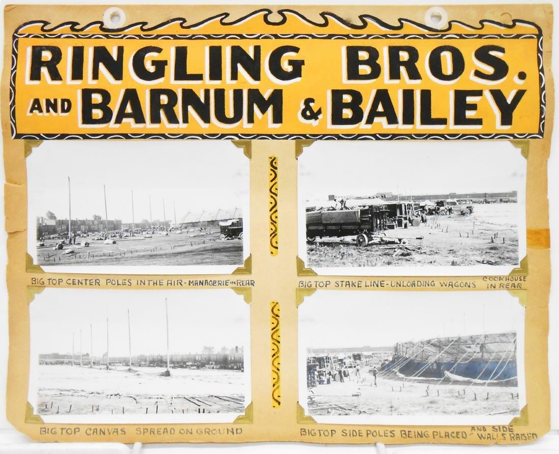 RINGLING BROS BARNUM BAILEY COMBINE CIRCUS PHOTOS 1937+ - 3