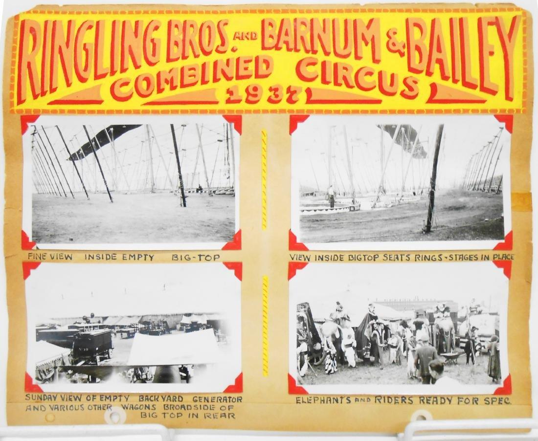 RINGLING BROS BARNUM BAILEY COMBINE CIRCUS PHOTOS 1937+ - 4