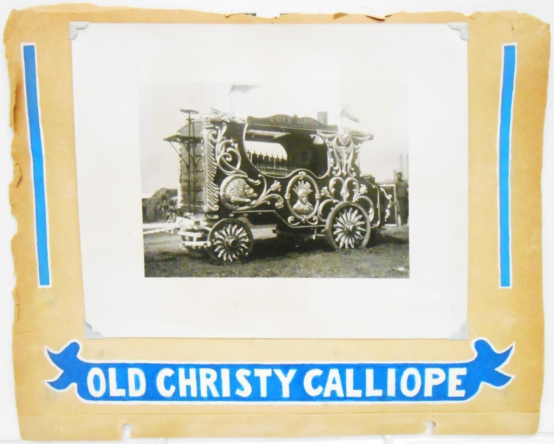 MOSTLY 1938 CIRCUS PHOTOS