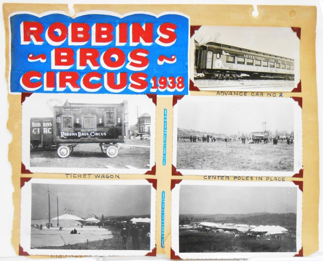 MOSTLY 1938 CIRCUS PHOTOS - 2
