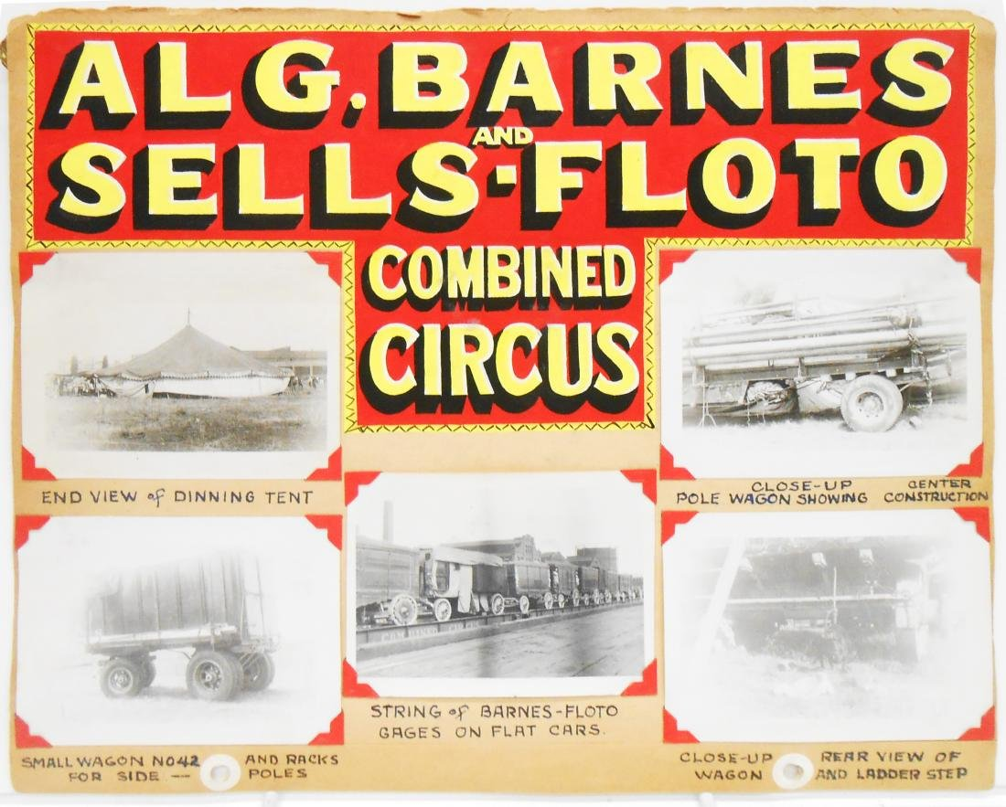 MOSTLY 1938 CIRCUS PHOTOS - 3