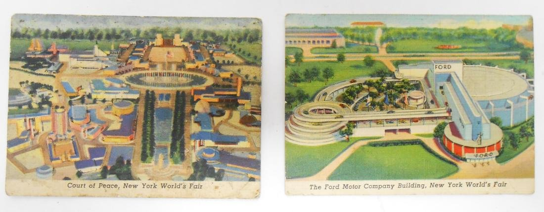 (6) ADVERTISING TRADE CARDS
