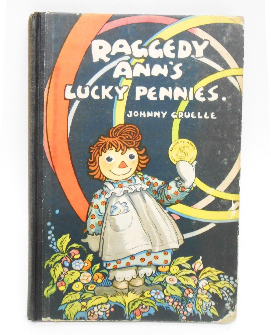 (12) JOHNNY GRUELLE RAGGEDY ANNE, ETC. BOOKS - 10