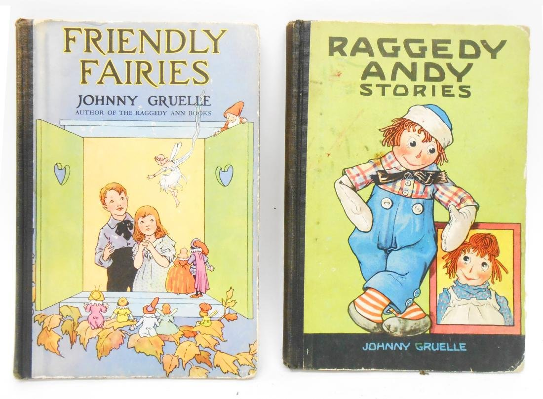 (12) JOHNNY GRUELLE RAGGEDY ANNE, ETC. BOOKS - 2