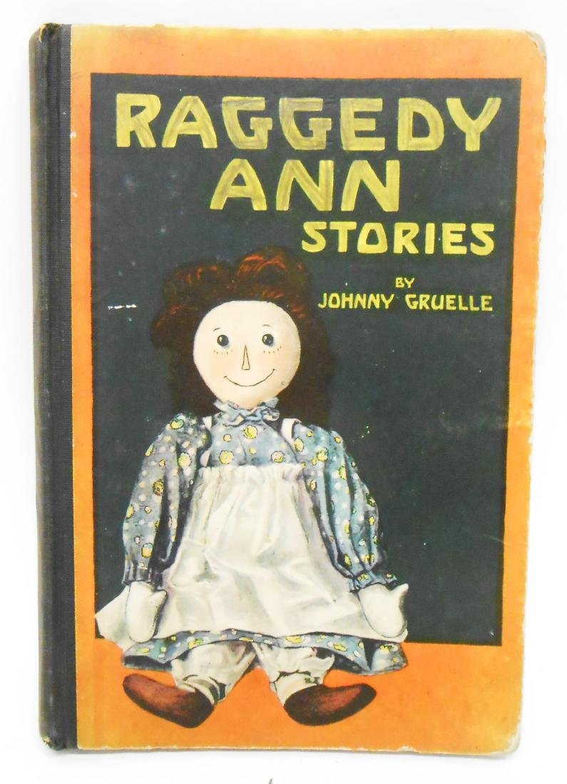 (12) JOHNNY GRUELLE RAGGEDY ANNE, ETC. BOOKS - 3