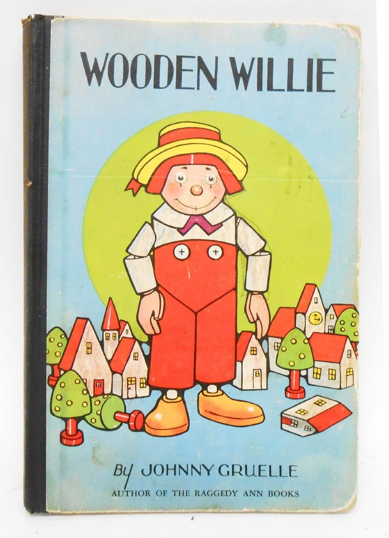(12) JOHNNY GRUELLE RAGGEDY ANNE, ETC. BOOKS - 5