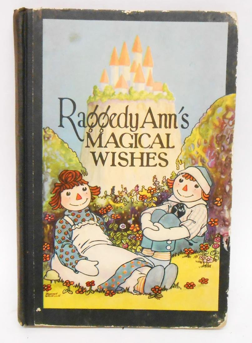 (12) JOHNNY GRUELLE RAGGEDY ANNE, ETC. BOOKS - 6