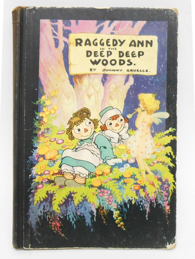 (12) JOHNNY GRUELLE RAGGEDY ANNE, ETC. BOOKS - 8