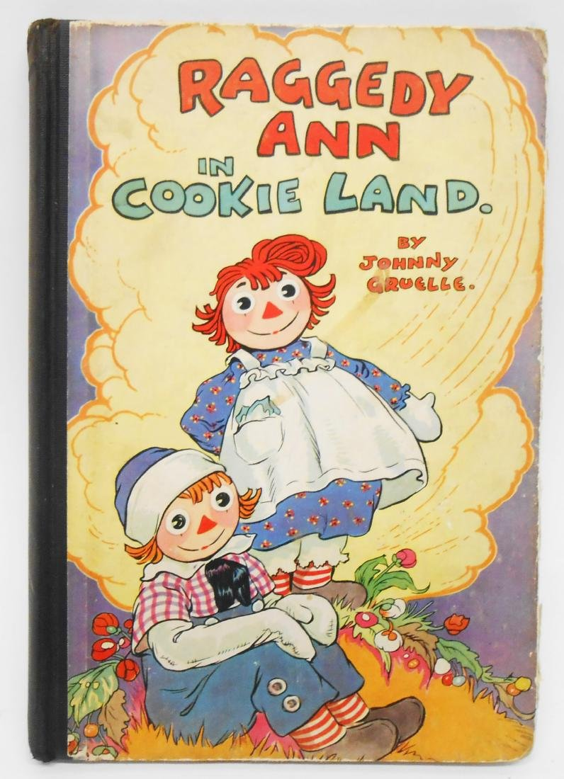 (12) JOHNNY GRUELLE RAGGEDY ANNE, ETC. BOOKS - 9