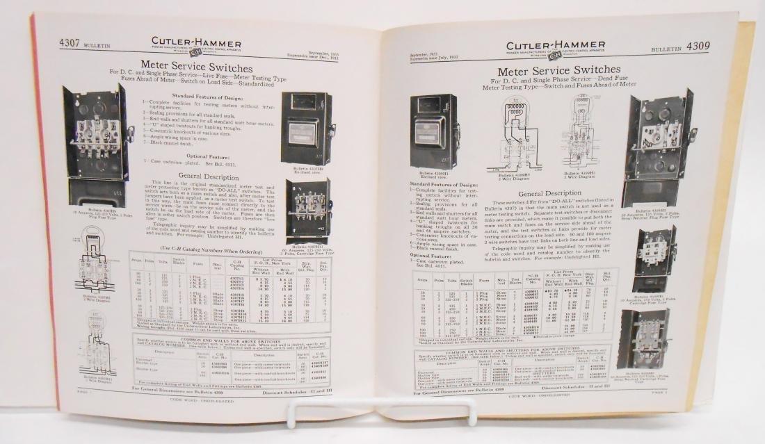(5) ELECTRIC CATALOGS & BROCHURES - 6