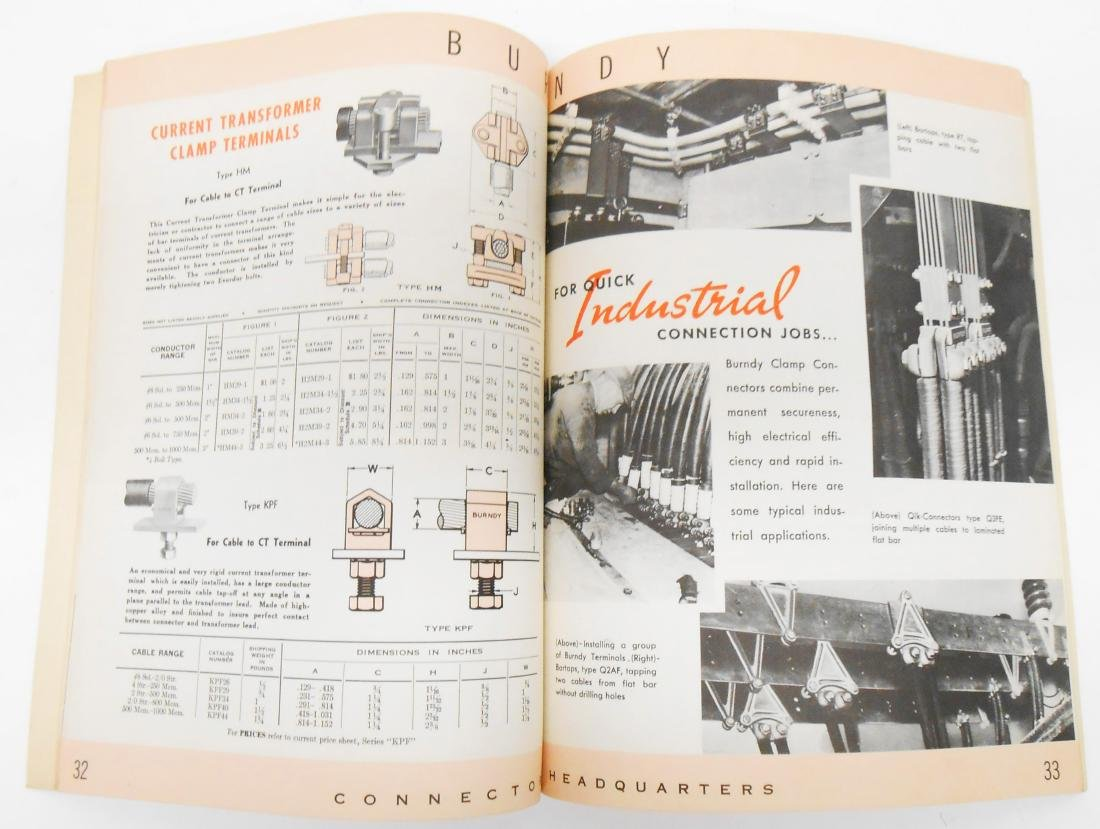 (7) ELECTRICAL EQUIPMENT CATALOGS - 2