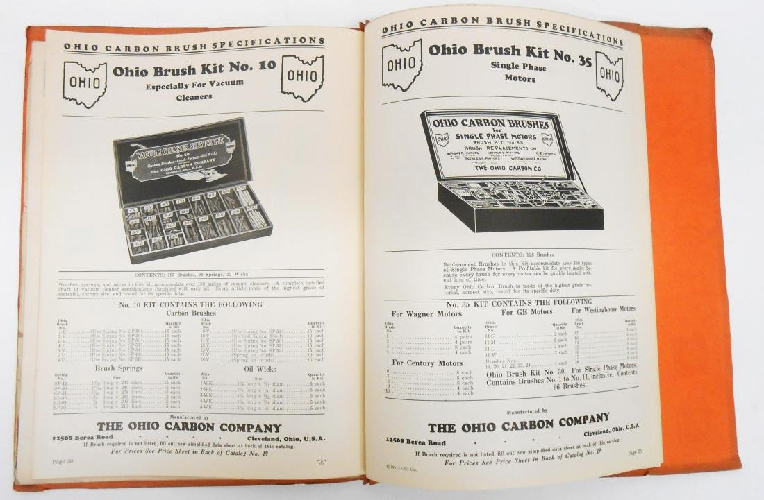 (7) ELECTRICAL EQUIPMENT CATALOGS - 4