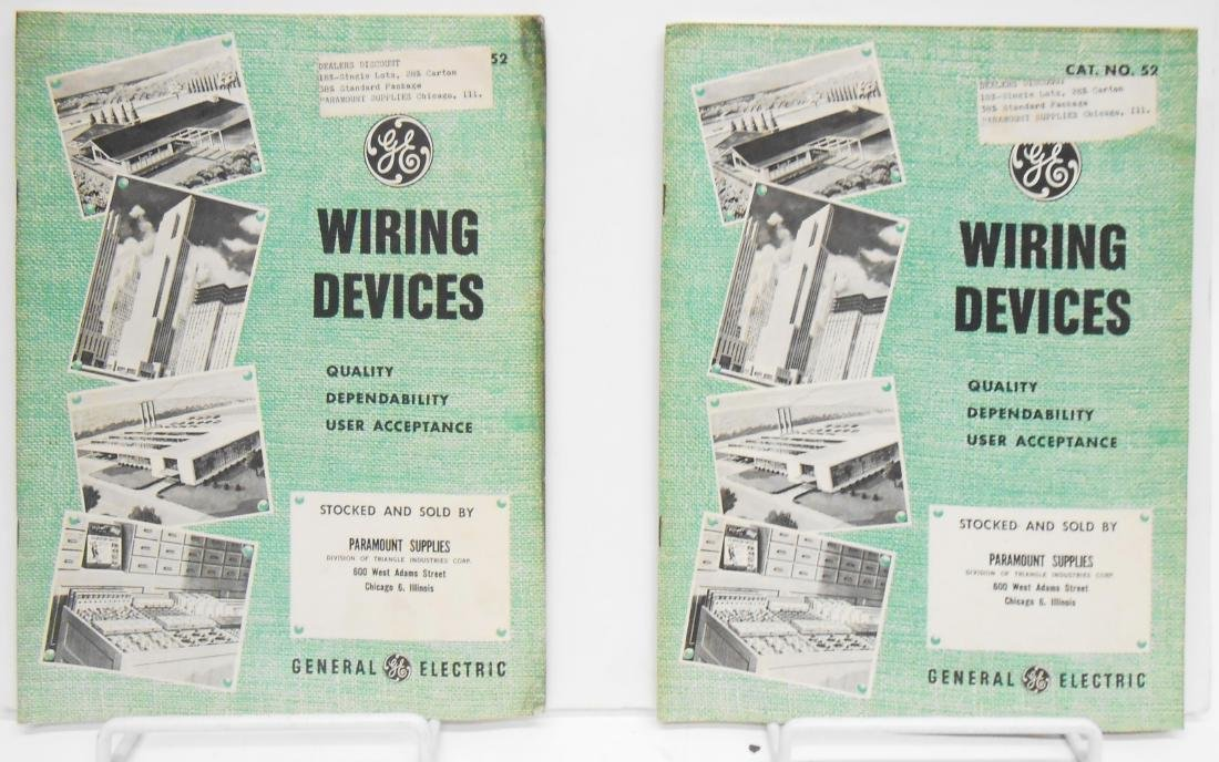 (7) ELECTRICAL EQUIPMENT CATALOGS - 5