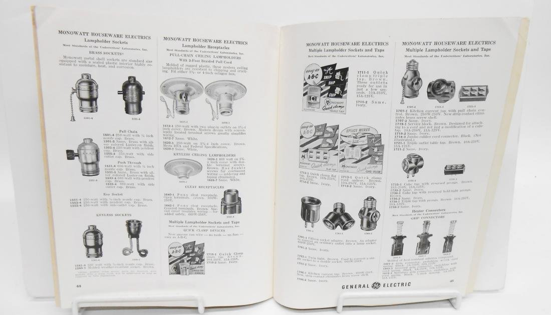(7) ELECTRICAL EQUIPMENT CATALOGS - 6