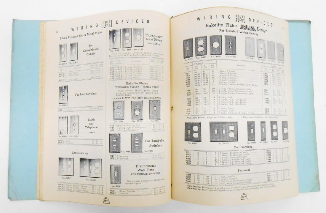 (7) ELECTRICAL EQUIPMENT CATALOGS - 8