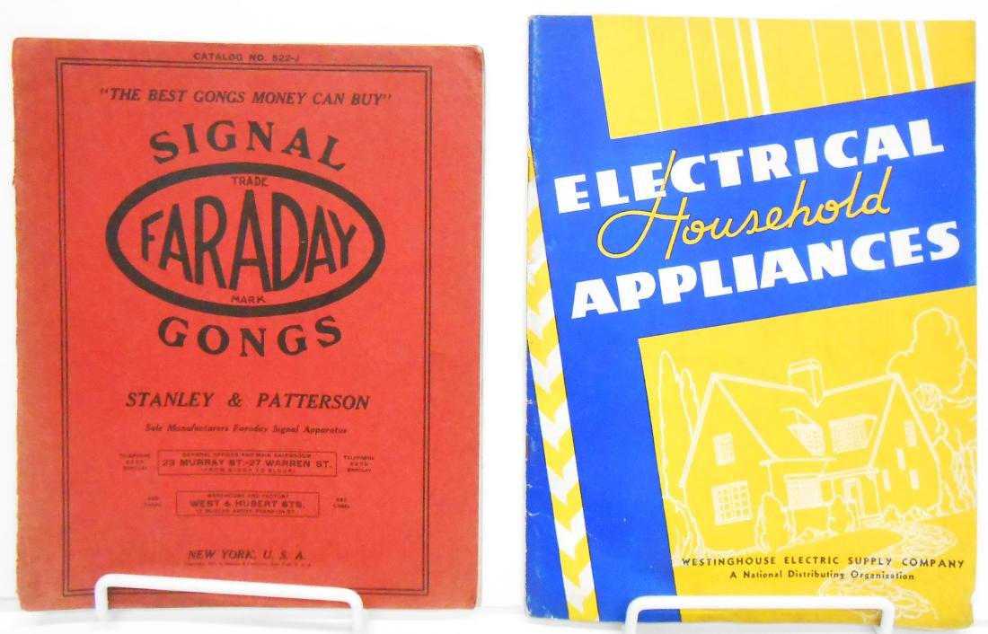 HOUSEHOLD &  INDUSTRIAL ELEMENTS PRODUCT CATALOGS (8)