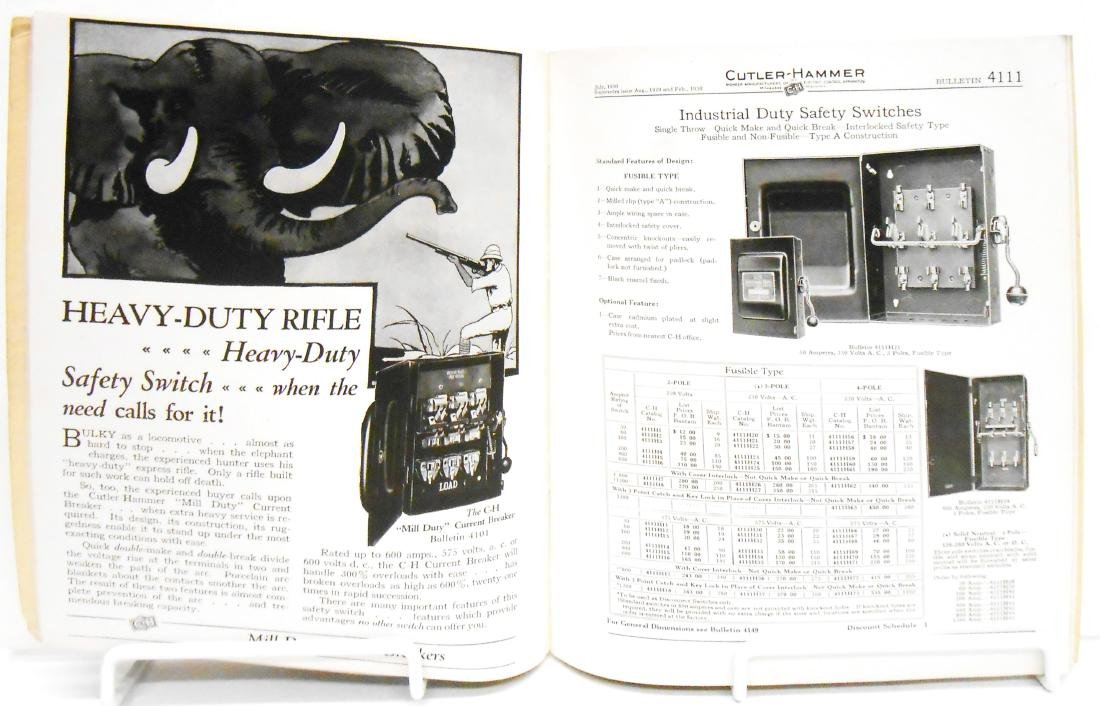 (6) INDUSTRIAL ELECTRICAL SUPPLY CATALOGS - 10