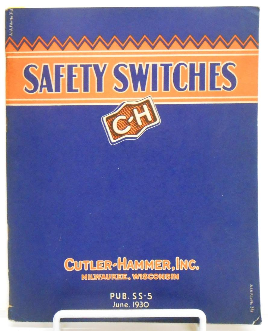 (6) INDUSTRIAL ELECTRICAL SUPPLY CATALOGS - 9