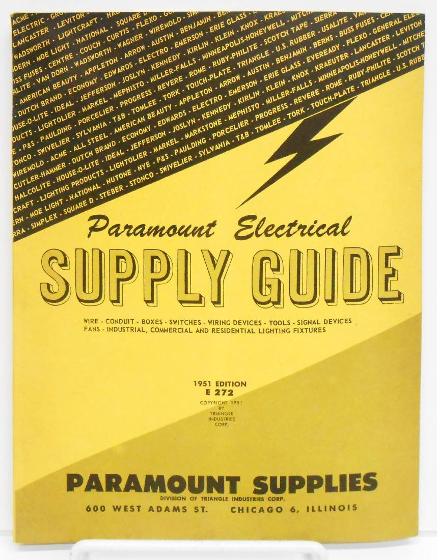 (4) INDUSTRIAL SUPPLY CATALOGS - 5