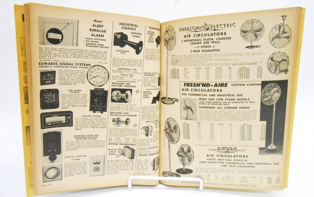 (4) INDUSTRIAL SUPPLY CATALOGS - 6