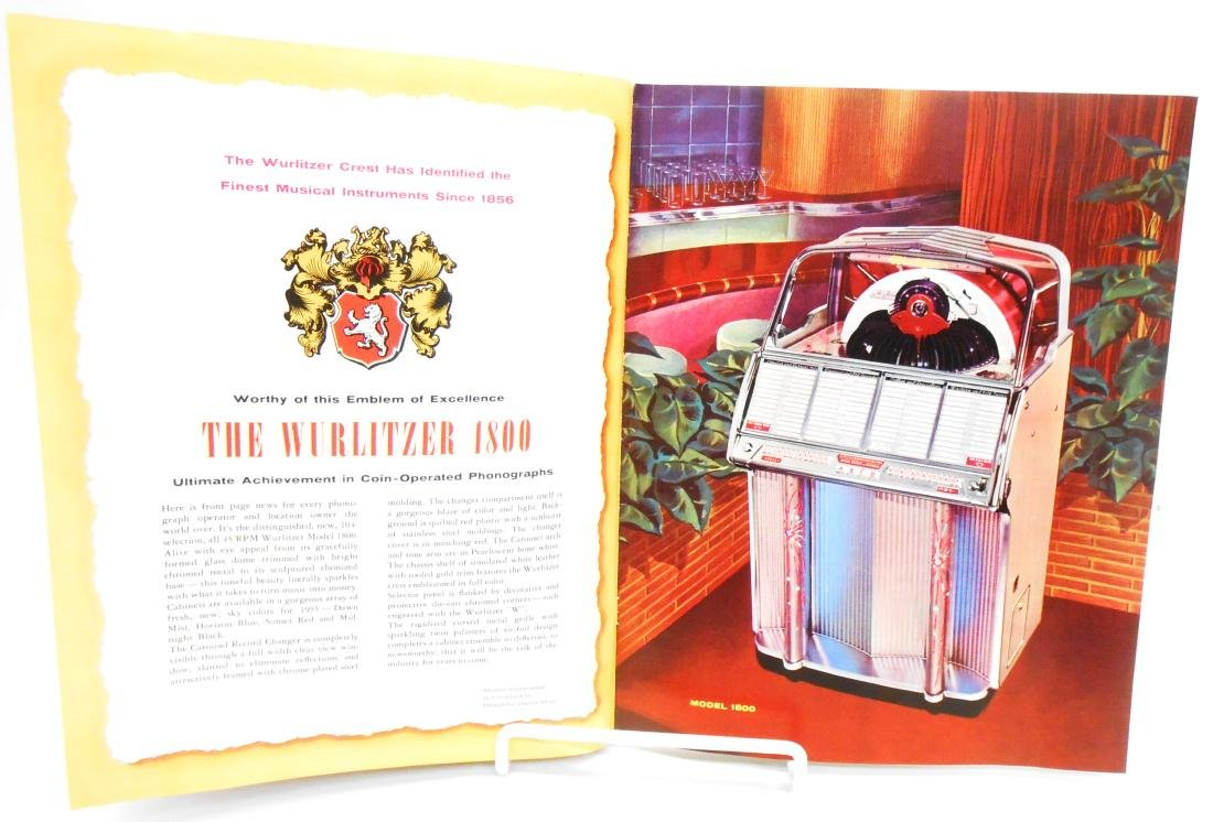 (2) WURLITZER JUKEBOX BROCHURES - 5