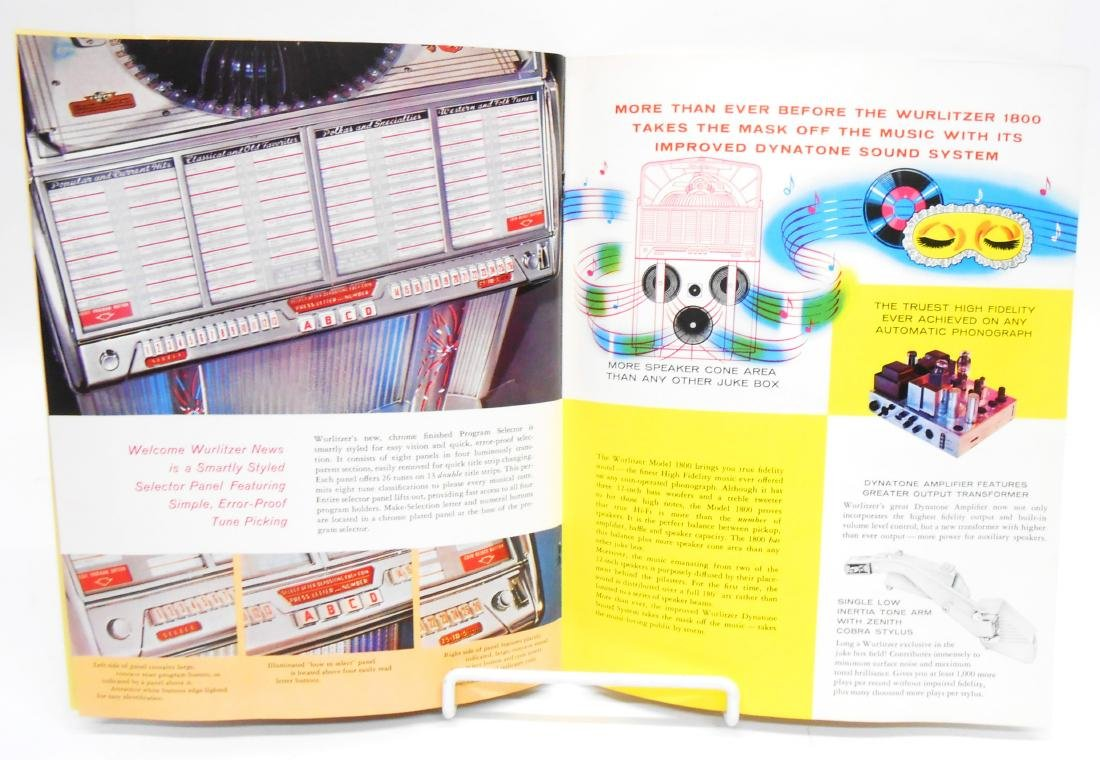 (2) WURLITZER JUKEBOX BROCHURES - 6