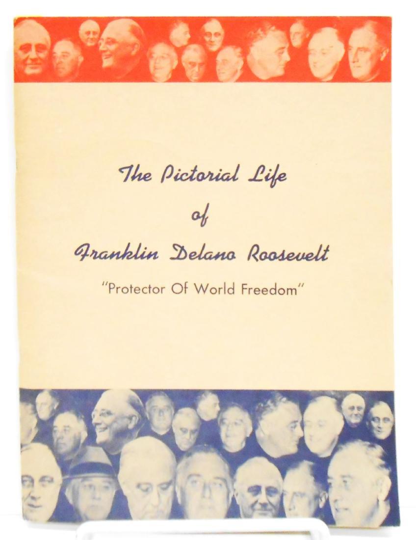 WW2 and ROOSEVELT PAPER EPHEMERA