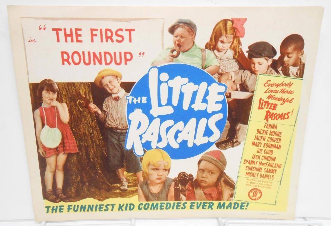 (9) LITTLE RASCALS LOBBY CARDS