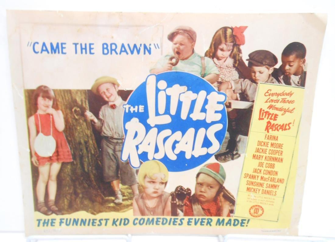 (9) LITTLE RASCALS LOBBY CARDS - 5