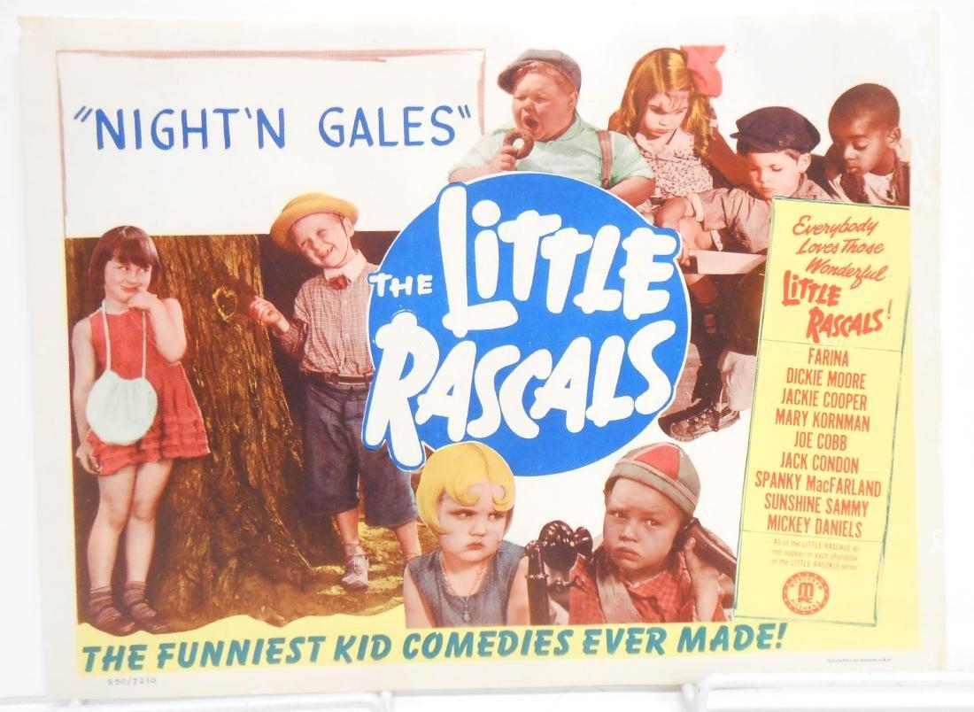 (9) LITTLE RASCALS LOBBY CARDS - 6