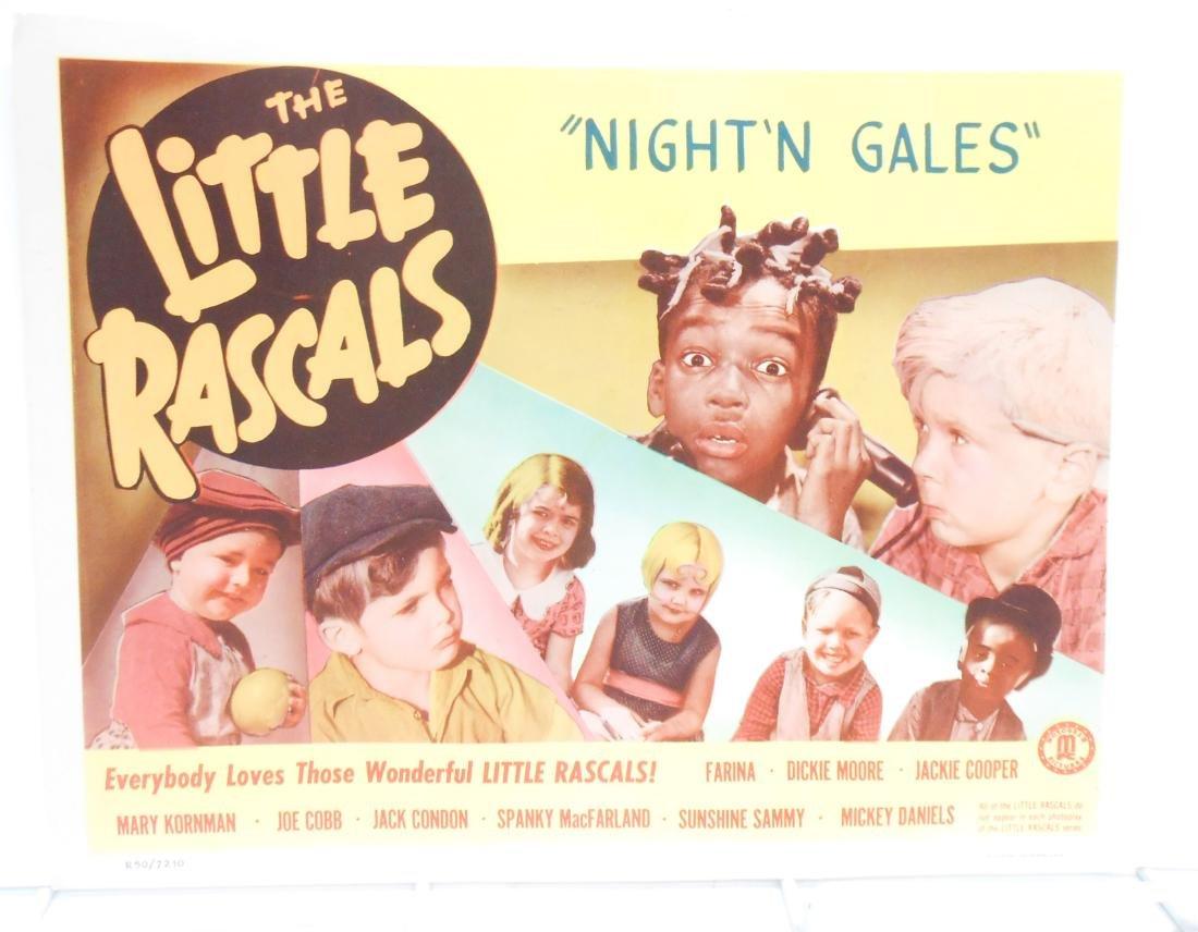 (9) LITTLE RASCALS LOBBY CARDS - 7